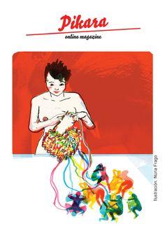 #ILUSTRACION #FEMINISMO #REVISTAS #CROWDFUNDING PIKARA MAGAZINE NUM4  Campaña de financiación de Pikara Magazine para poder imprimir el cuarto anuario en papel. Volvemos a la imprenta con un diseño precioso, más periodismo y mucho feminismo. Pikara, tu espacio. Crowdfunding verkami: http://www.verkami.com/projects/15278-pikara-tu-espacio-apoyanos-en-la-financiacion-del-cuarto-anuario-en-papel