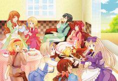 Hetalia girls teaparty!