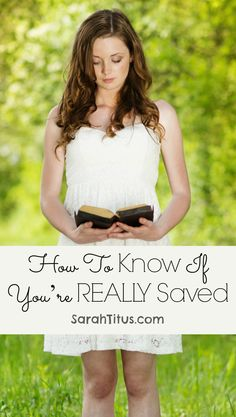 How to Know If You're Really Saved