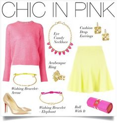 Chic In Pink   Stella & Dot- Click on the picture to buy pieces Facebook: MikkiLara