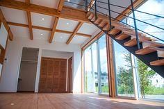 秋田市桜台ふつうの住宅地に建つ非凡な家|施工例3