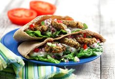 Diabetic Oven-Roasted Falafel Recipe from Diabetic Gourmet Magazine, plus many more recipes for a healthy diabetic diet. Diabetic Meal Plan, Diabetic Recipes, Cooking Recipes, Chef Recipes, Kosher Recipes, Cooking Ideas, Yummy Recipes, Vegan Recipes, Falafel Recipe