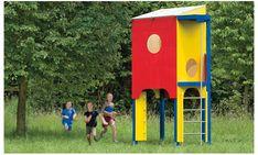 Spielhaus bauen: Schritt 1 von 11