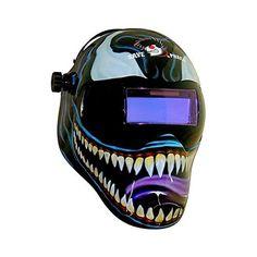 Save Phace 3012145 Marvel Comics Venom Gen Y Series Welding Helmet History Of Welding, Auto Darkening Welding Helmet, Welding Training, Welding Jobs, Welding Process, Marvel Comics, Marvel Venom, Custom Paint, Metal Working