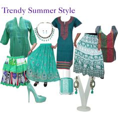 Trendy Summer Style by mogulinteriordesigns on Polyvore featuring Casadei and Essie