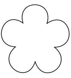 17 Best images about DIY Flower Quiet Book Templates, Templates Printable Free, Printables, Flower Petal Template, Flower Tutorial, Paper Flowers For Kids, Felt Flowers, Flower Outline, Free Stencils