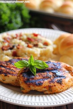 Grilled Sweet Basil Rub Chicken