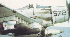 Toilet bomb on a Douglas A-1 Skyraider - Squadron 25 1965 . via http://ift.tt/1M7uhFW