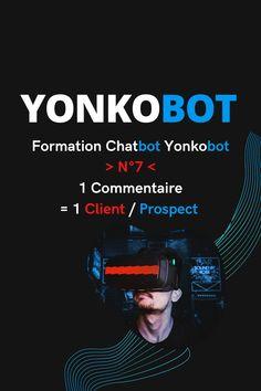🚀 1 Commentaire = 1 Client ?..  Est-ce vraiment possible ?..  🤖 Yonkobot le permet en exploitant les dernières possibilités de l'API de Facebook..  Il répondra à tous les commentaires mais en message privé..  Amenant ainsi un commentaire vers le Chatbot et permettant de :  ♻️ Récolter des données..  ♻️ Envoyer des Séquences Promotionnelles (Gratuit) sur Messenger..  ♻️ Acquérir un Lead (abonné au bot)..  ♻️ Rediriger vers votre boutique/réseaux sociaux..  ♻️ Et bien plus  Sms Marketing, La Formation, Messages, Client, Youtube, Facebook, Afin, Boutique, Everything