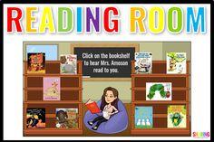 Kindergarten Library, Teaching Kindergarten, Teaching Tips, Teaching Technology, Technology Integration, Classroom Ideas, Google Classroom, Classroom Libraries, Online Classroom