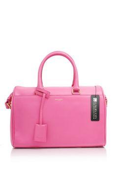 -Yves Saint Laurent- Classic Duffle 6 Bag Pink  YSL  Handbags 2fbf6f6d089b5