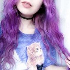 """KAYLAHADLINGTON on Instagram: """"*obsessively wears cat top* @rokitvintage"""""""