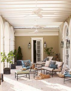 Something very appealing about deep verandas.