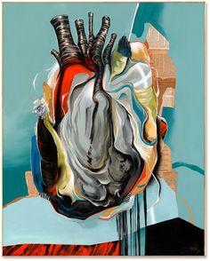 dave kinsey heart felt in 2019 сердце, тату My Funny Valentine, Art Beat, Anatomical Heart, Heart Images, Human Heart, Felt Hearts, Heart Art, Unique Art, Contemporary Art