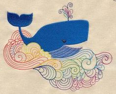 All's Whale_image  urban threads embroidery designs