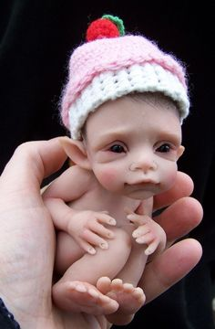 OOAK I'm 1 today Elf by Malga by malga1605 on Etsy, $115.00