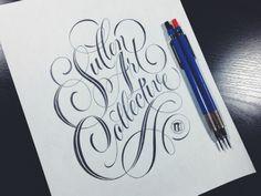 Sullen Art Collective by Ryan Hamrick, via Behance