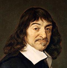 René Descartes. Geboren 31 maart 1596 overleden 11 februari 1650. Descartes was een Franse filosoof en wiskundige. Descartes zijn ouders waren erg rijk, maar niet van adel, en behoorden daarom tot de bourgeoisie. Descartes heeft een andere manier van filosoferen ontdekt. Ieder mens kijkt met een andere blik naar de wereld. Volgens moet je twijfelen aan alles, daarbij hoort de uitspraak 'Cogito ergo sum'. Als je dat vertaald naar het Nederland betekent het 'Ik denk dus ik ben'.