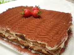 It is impossible to resist not eating a piece of Tiramisu! Creamy, light, fresh, authentic Italian Tiramisu recipe origins are still the subject of. Romanian Desserts, Romanian Food, Romanian Recipes, Authentic Italian Tiramisu Recipe, No Bake Desserts, Dessert Recipes, Simply Recipes, Simply Food, Sweet Tarts