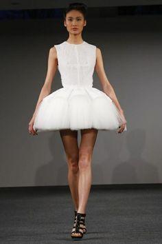Clarisse Heiraix Haute Couture Spring Summer 2014 Paris - NOWFASHION