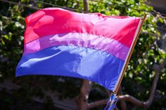 Buy a Bisexual Polyamorous Threesome Multitasking T-Shirt by JayneBShea and get a Bisexual Flag for $10