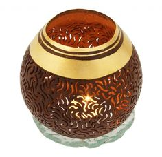 Perforated Coconut Candle light