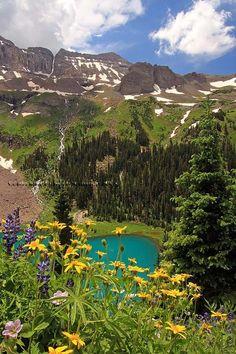 Blue Lake,Colorado: