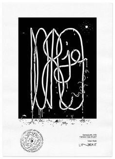 TYPO edition | Vanja Vikalo for #lasersummit | theme FOR YOUR ON GOOD | #print #art #artwork #design #illustration