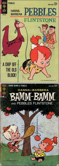 Pebbles Flintstone & Bamm-Bamm Rubble