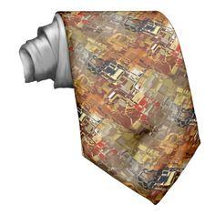 Shop Classic Blue-Scuba Blue Camouflage Print PANTONE Neck Tie created by Fashiontelligent.