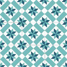Stickers parquet carrelage carreaux de ciment dans l 39 offre de pixers - Mosaic del sur paris ...
