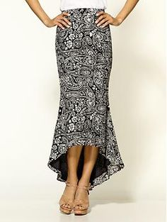 Love the hem and the pattern
