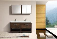 VANITIES – Reluxeliving 48 Vanity, Modern Vanity, Single Bathroom Vanity, Bathroom Vanities, Bathroom Essentials, High Quality Furniture, Design, Home Decor
