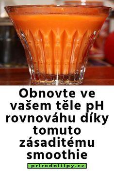 Obnovte ve vašem těle pH rovnováhu díky tomuto zásaditému smoothie Grapefruit, Smoothies, Detox, Food And Drink, Drinks, Tableware, Fitness, Medicine, Smoothie