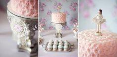The Homespun Hostess: A Ballerina Party for Annabelle's 4th Birthday