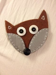 Fox Reflector Sizzix Diy Crafts For School, Crafts To Do, Felt Crafts, Easy Crafts, Crafts For Kids, Arts And Crafts, Paper Crafts, Handicraft, Textiles
