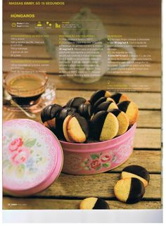 Revista bimby pt-s02-0029 - abril 2013 Sweets Recipes, Wine Recipes, Desserts, Kitchen Reviews, Food Wishes, Mini Foods, What To Cook, Food Truck, Cooking Time