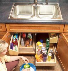 Een handige optie om spullen op te bergen in de keuken