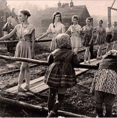 Russian ballet class during WWII. Even in the rubble and ash of war, there is still room for art. 1940s
