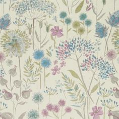 Voyage Maison - Designer Fabrics, Wallpaper & Home Accessories Crafts Beautiful, Fabric Remnants, Color Blending, All Design, Flower Designs, Fabric Design, Home Accessories, Flora, Colours