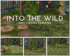 Sims 4 CC's - The Best: Moss terrain paint by Tiger Lilly