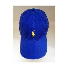 POLO Ralph Lauren Royal Blue Women s Cap Authentic Hat with Horse Logo... ❤  liked on Polyvore cd924cb113c1