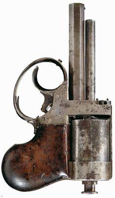Jacob Shaw under-hammer percussion revolver