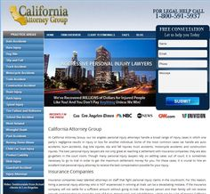 California Attorney Group Chose WebShark360 to revamp their website and introduce a slick new design