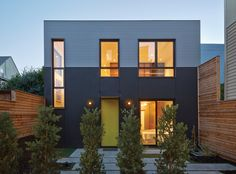 Two Homes By Zack | de Vito Architecture Share A Single Lot In San Francisco | Inspired by a standard city RH-2 parcel with a modest cottage positioned at the back of the lot on the popular Church Street corridor, this talented team immediately recognized the potential. While lot coverage of this sort cannot be created on vacant land, this existing dwelling was ripe for change.