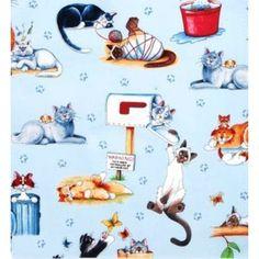 Tecido Robert Kaufman  - Cats