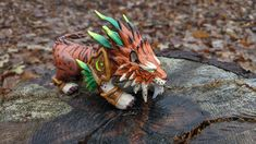 World Of Warcraft, Polymer Clay, Sculpture, How To Make, Sculptures, Sculpting, Statue, Modeling Dough, Carving