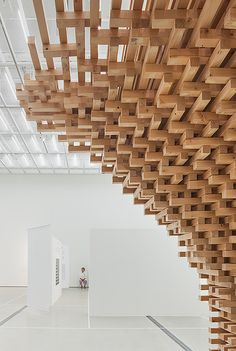 Photo credit: Kyungsub Shin, all images courtesy of HG-architecture. Parametric Architecture, Wooden Architecture, Parametric Design, Architecture Details, Interior Architecture, Interior And Exterior, Interior Design, Drawing Architecture, Architecture Diagrams