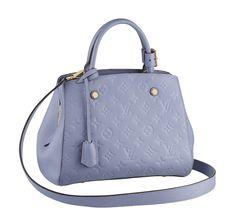 9d68583ff A bolsa Montaigne da Louis Vuitton inova a ideia do monograma com o couro  prensado da