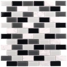 Peel & Stick Glass Mosaic Tile Statuary
